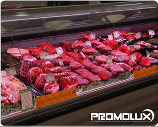 Meat lights for display case